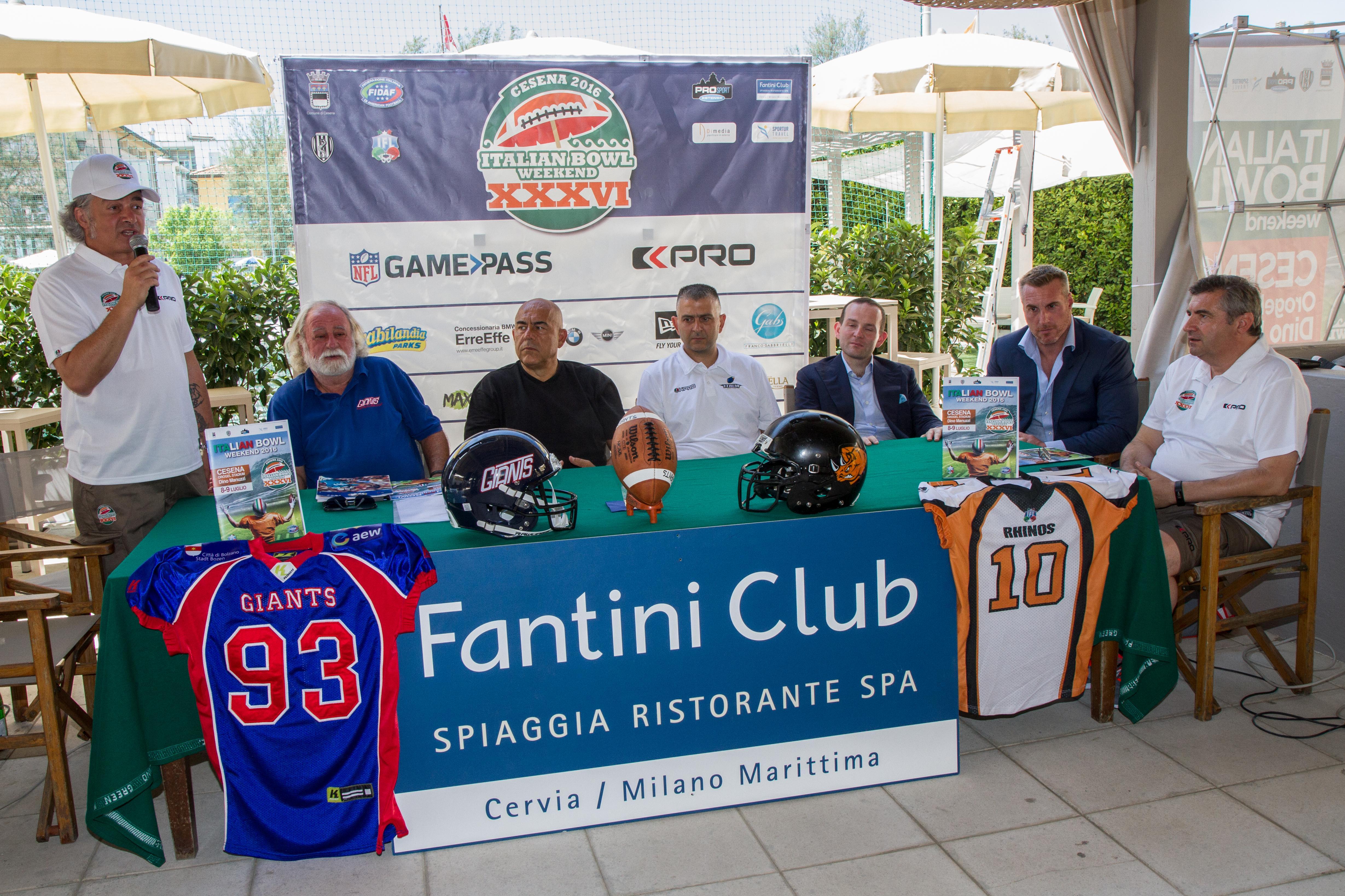 Cervia Italian superbowl Football conferenza