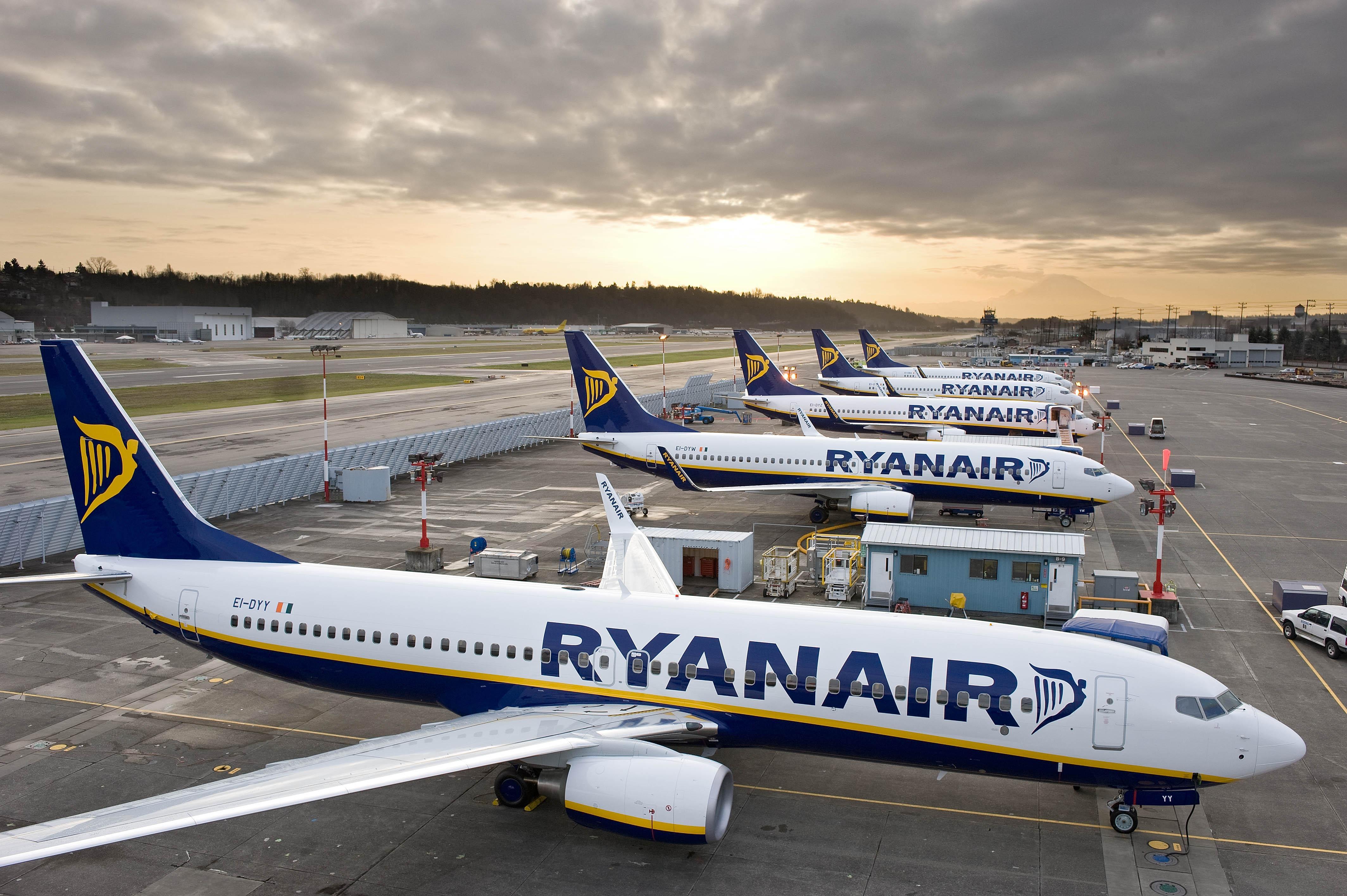 Aeromobili Ryanair aeroporto