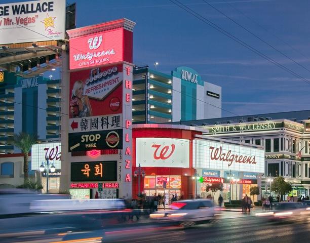 Un negozio di medicinali della catena americana Walgreens Boots Alliance