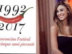 Belen Rodriguez inaugura il Peperoncino Festival di Diamante.
