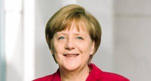 Angela Merkel (ph Bundeskanzlerin).