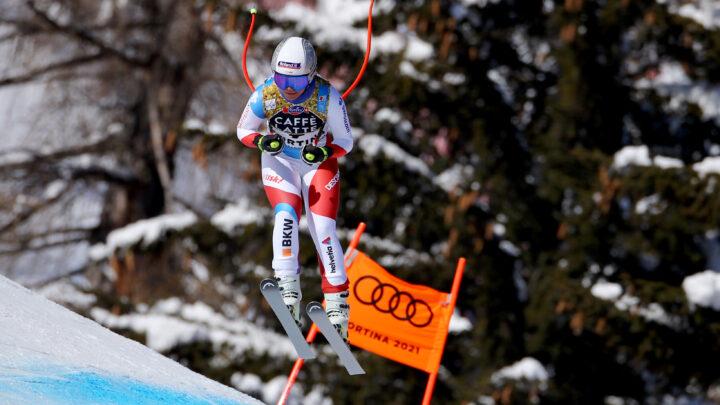 Mondiali di sci alpino Cortina 2021. Corinne Sutter (Svizzera) oro discesa libera. (Cortina d'Ampezzo 13/02/2021 - Photo: Pentaphoto Marco Trovati).