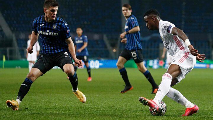 Champions League: Atalanta - Real Madrid: Mendy in extremis regala la vittoria ai Blancos (credit Real Madrid Official Website Photo Gallery)