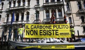 Greenpeace contro i combustibili fossili