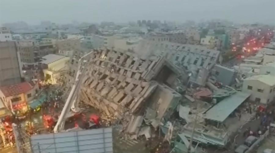 taiwan terremoto