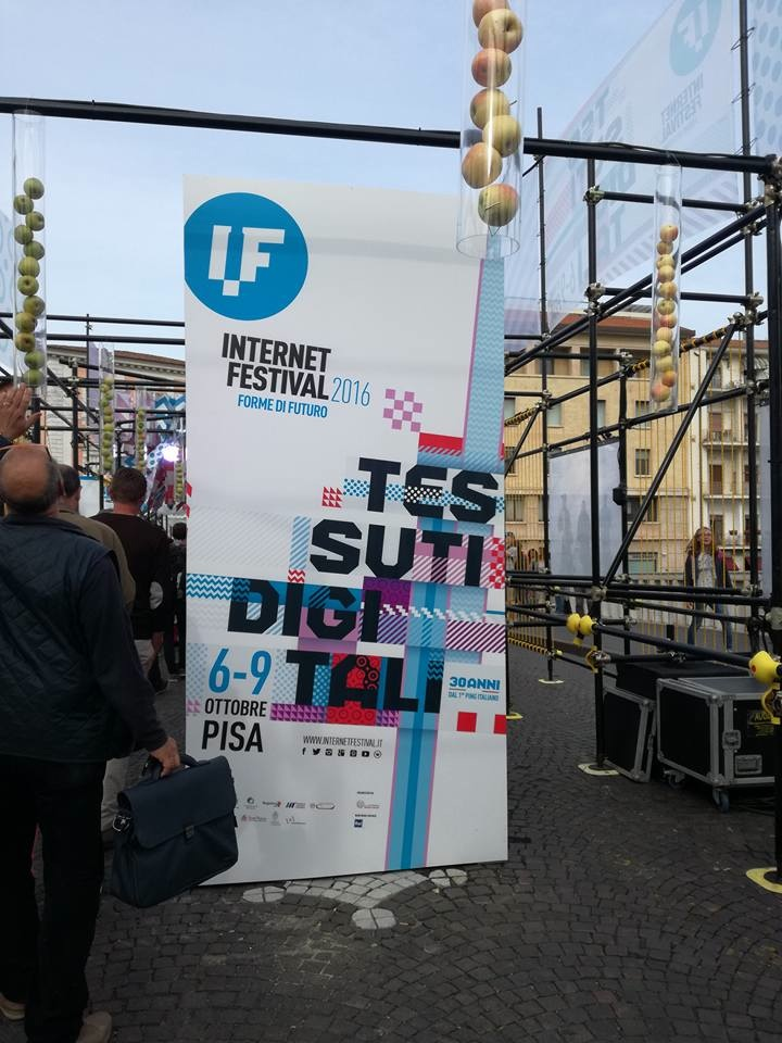 #IF2016 Internet festival Pisa