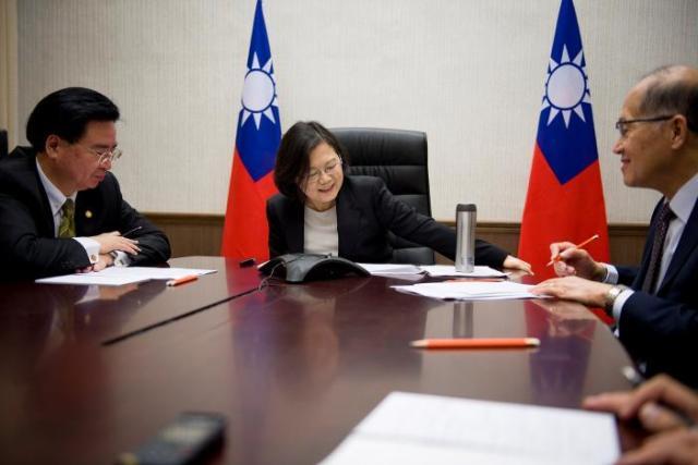 Tsai Ing-wen Donald Trum