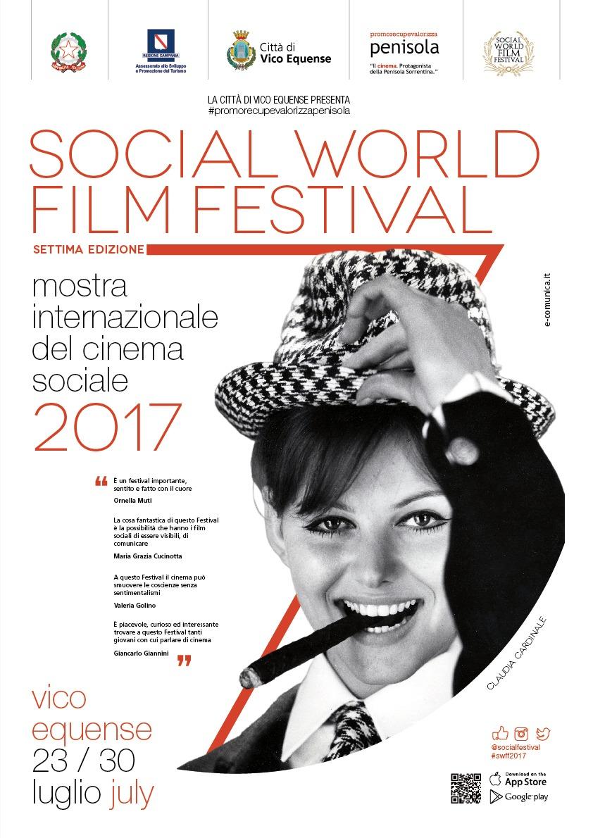 """Tributo alla Cardinale al Social World Film Festival, a Vico Equense dal 23 al 30 luglio con il tema Magia. Incanto, suggestione, meraviglia""""."""