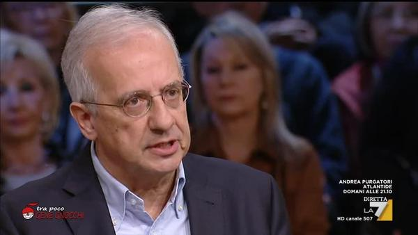 Walter Veltroni La7 DiMartedi'
