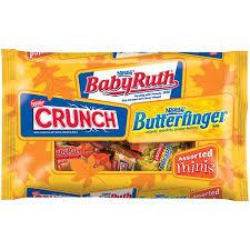 BabyRuth, Butterfinger e Crunch Nestlé Ferrero