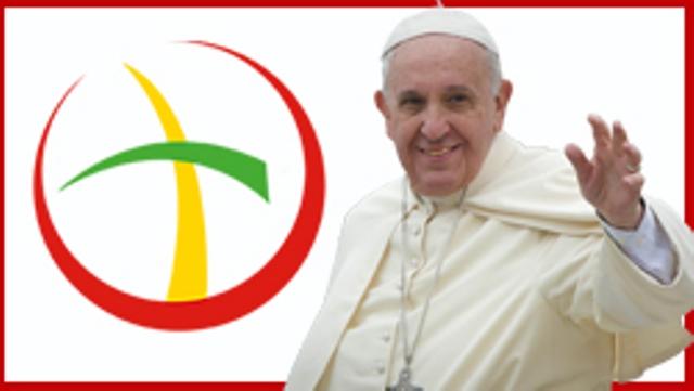Il logo ufficiale della visita pastorale di Papa Francesco in Marocco.