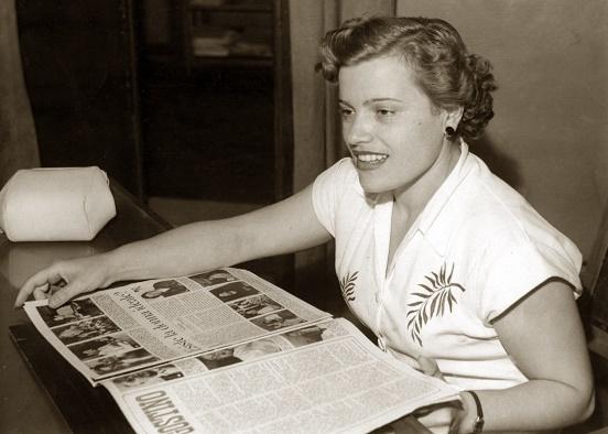 La partigiana modenese Gina Borellini.