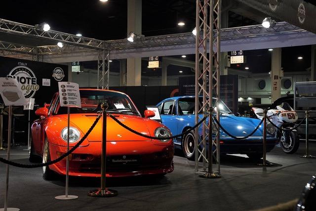 Porsche Ruote da Sogno a Auto e moto d'Epoca Fiera di padova 2020.