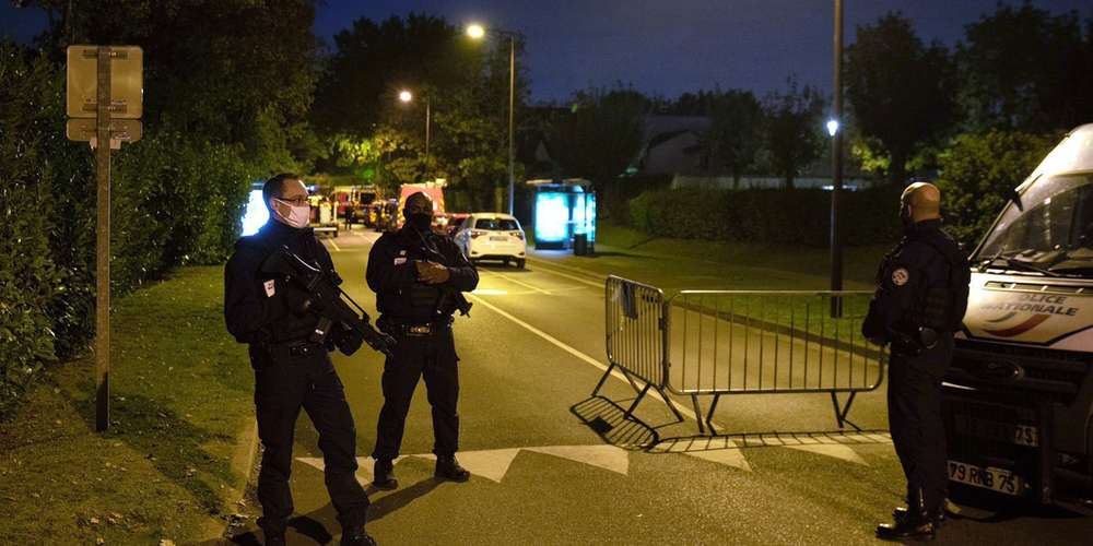 L'esecuzione di un professore di liceo vicino parigi (© photo ABDULMONAM EASSA/AFP).