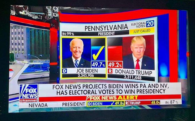 Su Fox News la cronaca delle elezioni presidenziali Usa in Pennsylvania.
