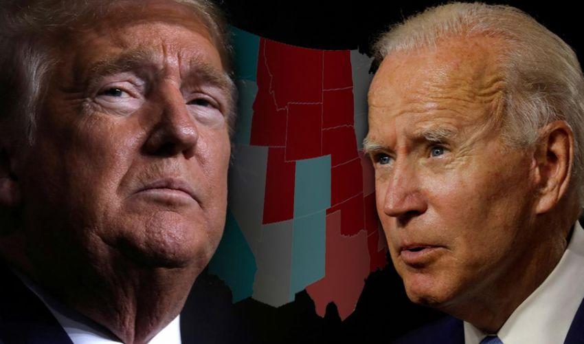 Elezioni presidenziali Usa, Trump e Biden in una fotocomposizione del The Italian Times.