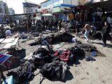 Doppio attentato suicida nel mercato di Baghdad, 32 morti (photo Anadolu).